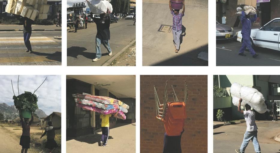 アフリカの人はなぜ頭に荷物をのせるのか??
